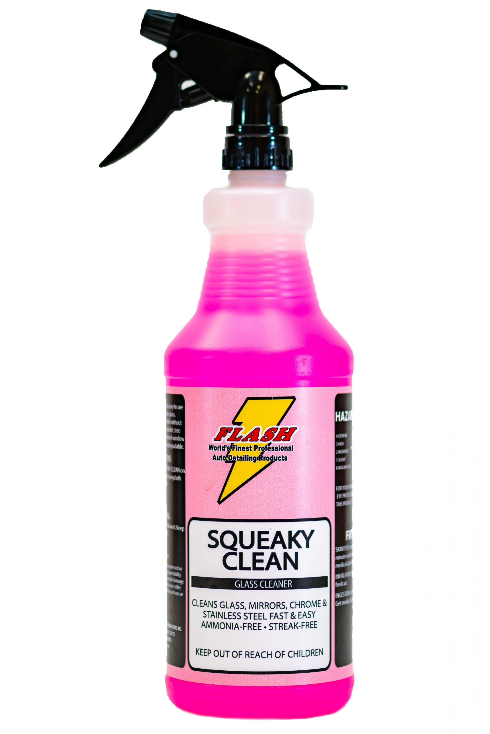 Flash Squeaky Clean Glass Cleaner 32 Oz Flash Auto